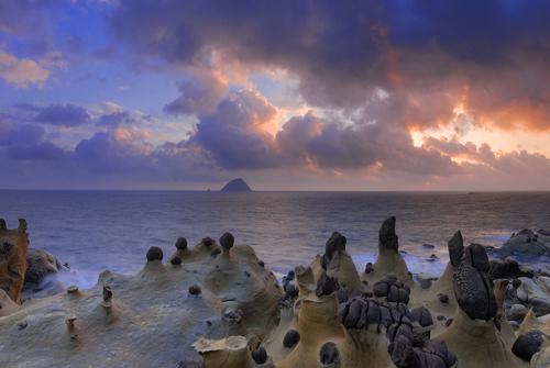夏季旅游好去处_基隆和平岛滨海公园,奇岩异石_基隆旅游_台湾游